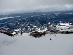 スキー場トップより見下ろす