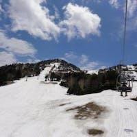 志賀高原 木戸池、熊の湯スキー場
