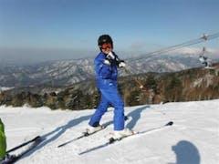 0:00きそふくしまは小雪が舞っています。 20台前後です。 朝は晴天!冷え込んでます。 朝一のシークレットAのコンディションは抜群です。 サービスディなので混むかなと・・でも比較的空いています。 カット飛びのレーサーもいないので、安心して滑れました。 息子も、ほぼ同じスピードで滑れるようになったので楽になりました。  息子も165cmの板デビュー! 小賀坂のAZ-13・・・めちゃくちゃ軽いです。 なかなか良い板です。  お昼は、リニューアルした白山です。 11時に入ったのに満席。  山賊焼き定食は、PAの白樺亭で食べてるので、ボリュームがいまいちでしたが、ゲレ食ならまあ納得かな?  3時半まで、ゲレンデの状態は良かったです。 久しぶりに、ピステの入ったゲレンデを楽しめました。