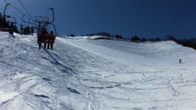 立山山麓極楽坂の写真