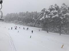 次男スキーデビュー
