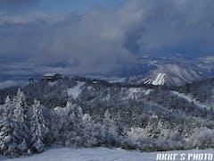 志賀中央エリアをぐるっと回りましたが東館山西館山は一部オープンでした(+o+)