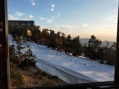 今シーズンラスト。横手山です。