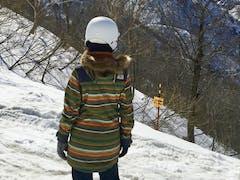 お天気も最高!雪質も、春なのに良い感じ♪ 五竜岳もくっきり見えて、 五竜岳の由来まで知ることが出来て嬉しかった。